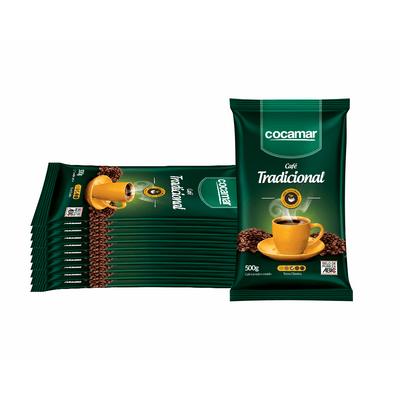 Cafe-COCAMAR-Almofada-Tradicional-500g--FARDO-10UN.-