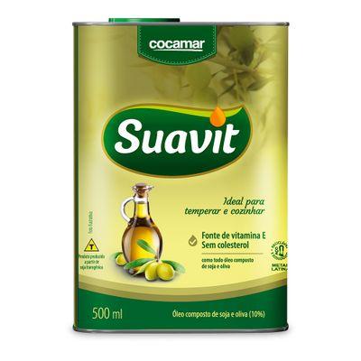 Oleo-Composto-Suavit-Soja-e-Oliva-Lata-500mL