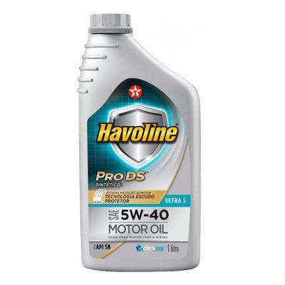 Oleo-Lubrificante-Texaco-Havoline-Ultra-S-SAE-5W-40-1L