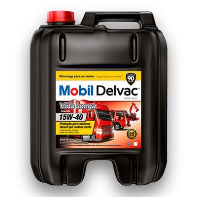 Oleo-Mineral-Texaco-Mobil-Delvac-Vida-Longa-15W-40-20L